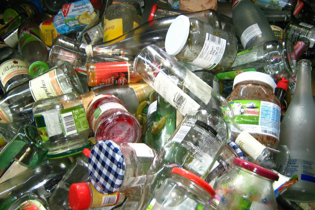 Mülltrennung - Altglas