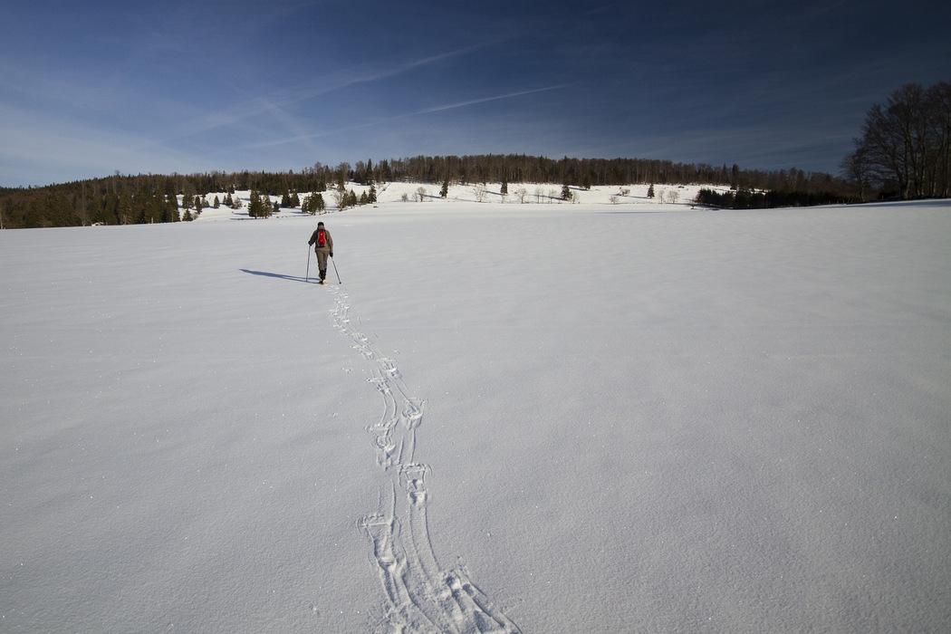 Sanfter Tourismus - Schneeschuhtouren