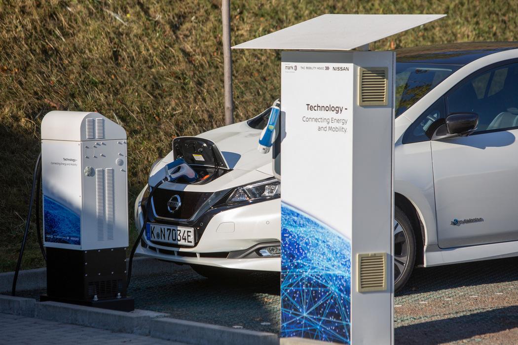 Sinnbild für eine emissionsfreie Mobilität - Der Nissan Leaf
