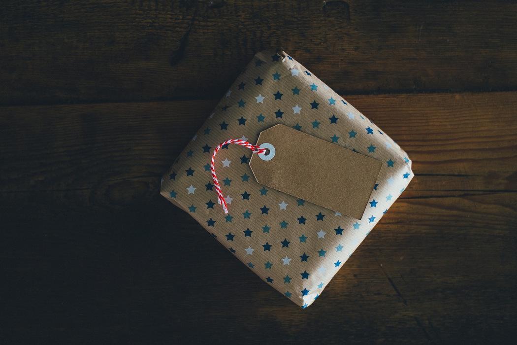 Umweltfreundliches Geschenkpapier zu Weihnachten