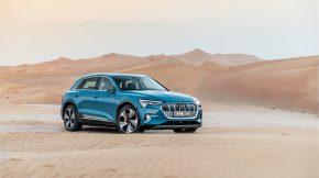 Audi e-Tron - Allradler in der Wüste