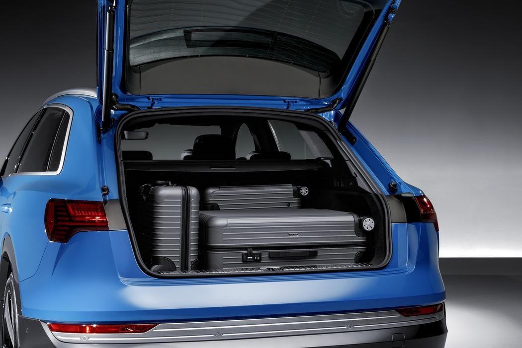 Audi e-Tron - Kofferaumvolumen