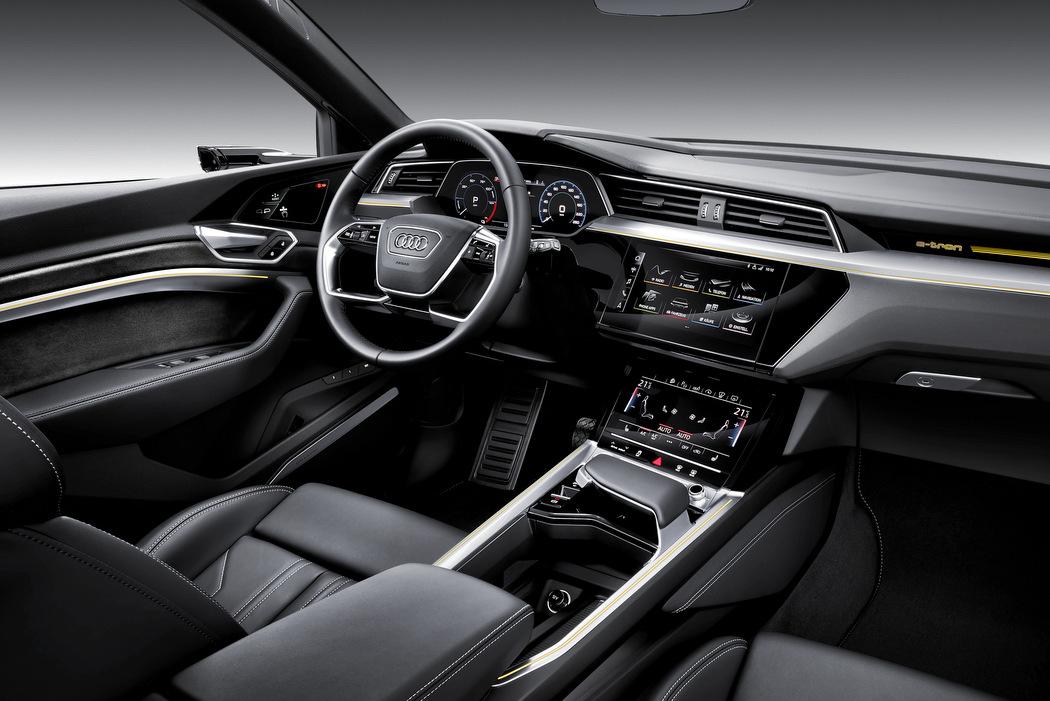 Audi e-Tron - Interieur