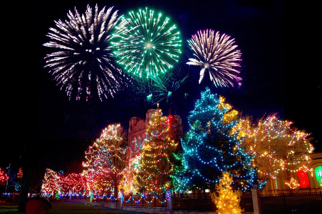 Weihnachtsbaumbeleuchtung - Bunt und stromsparend