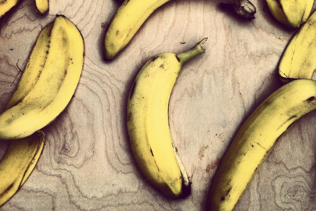 Lebensmittel spenden - verschwendete Bananen