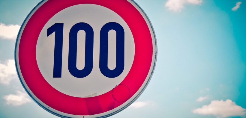 Tempolimit in den Niederlanden - Tempo 100
